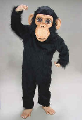 Chimp Mascot Costume