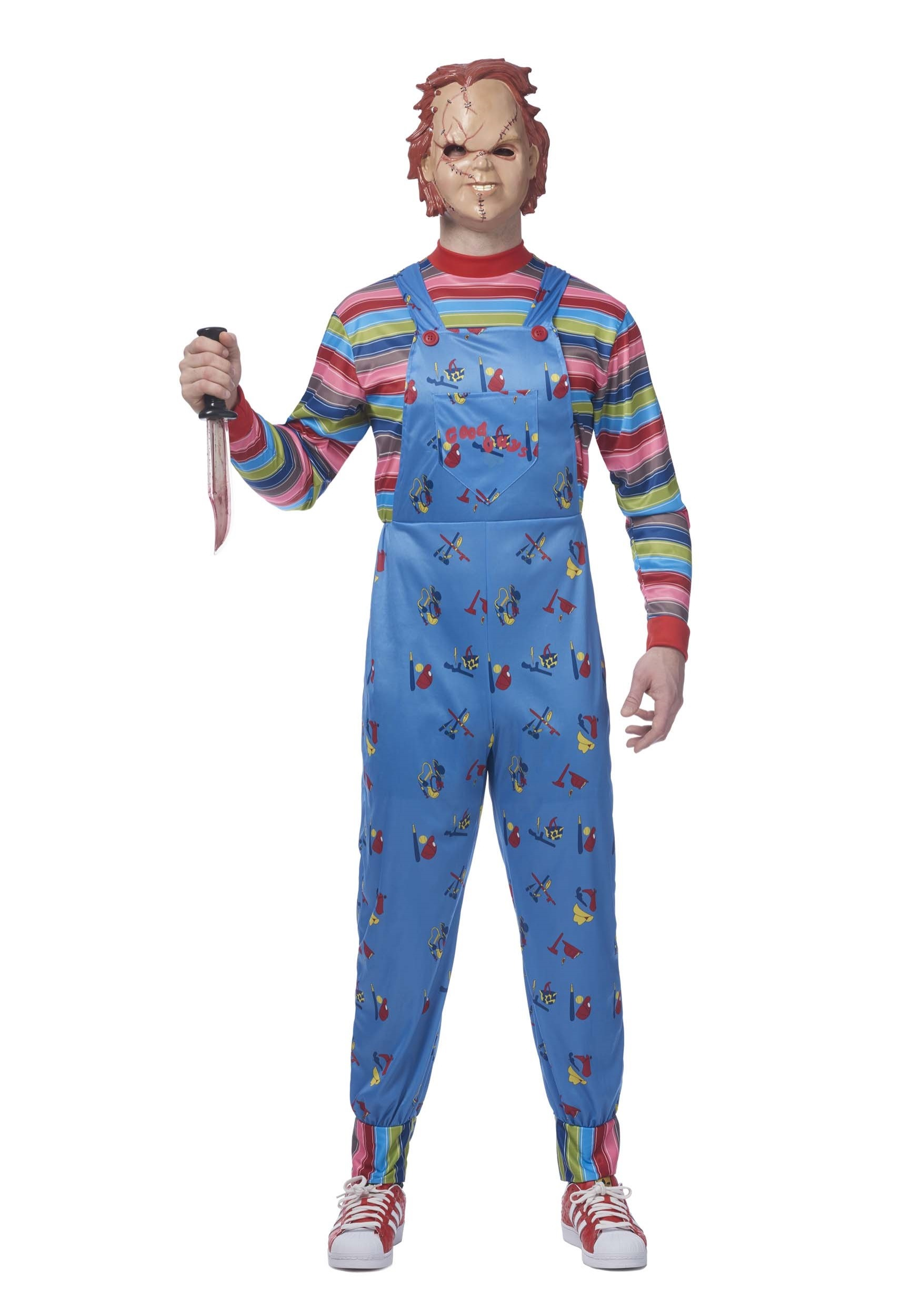 Chucky Plus Size Men's Costume