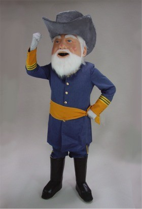 Civil War Mascot Costume