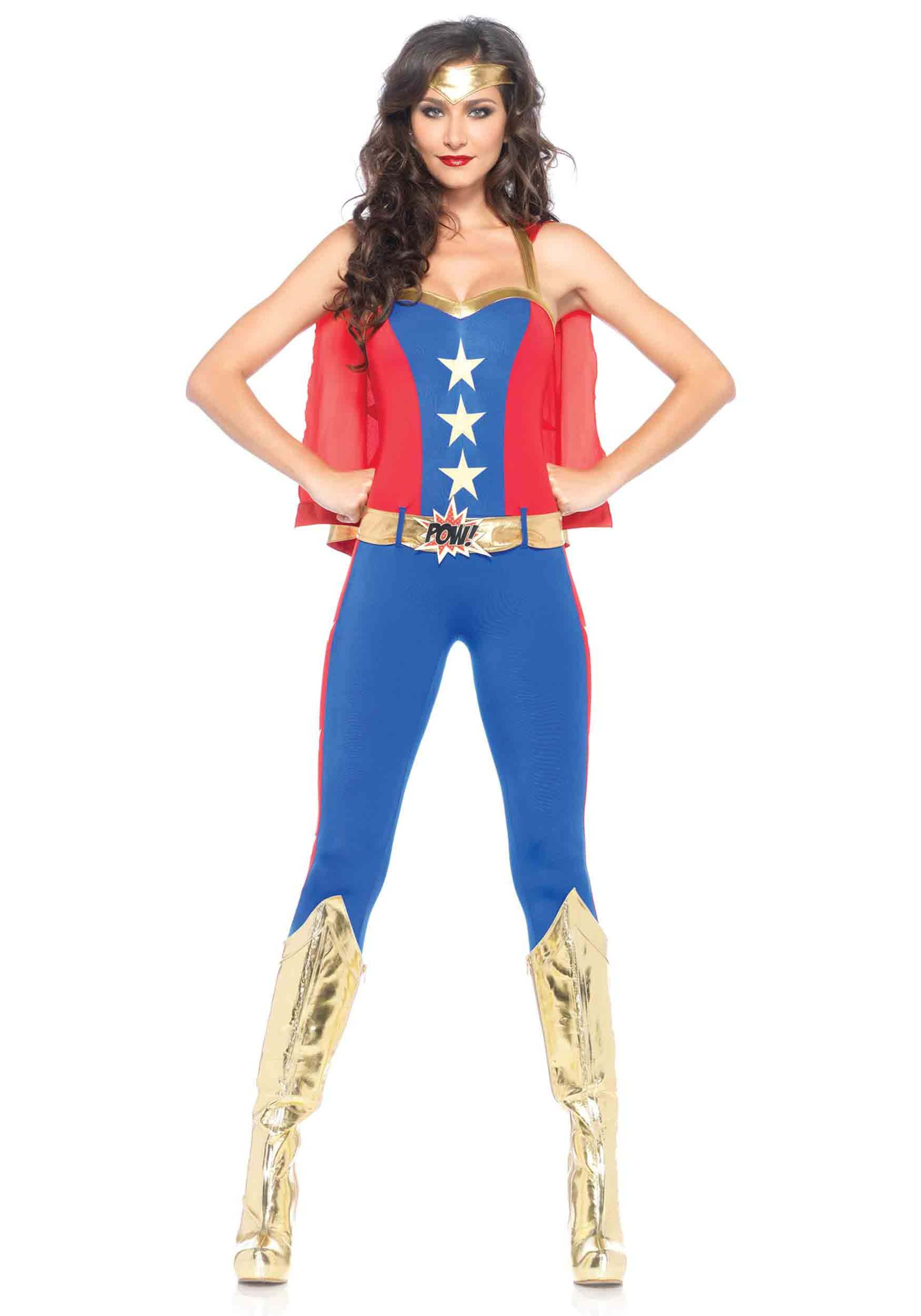Comic Book Hero Jumpsuit