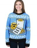 Cookie Hungry Santa Ugly Christmas Sweater