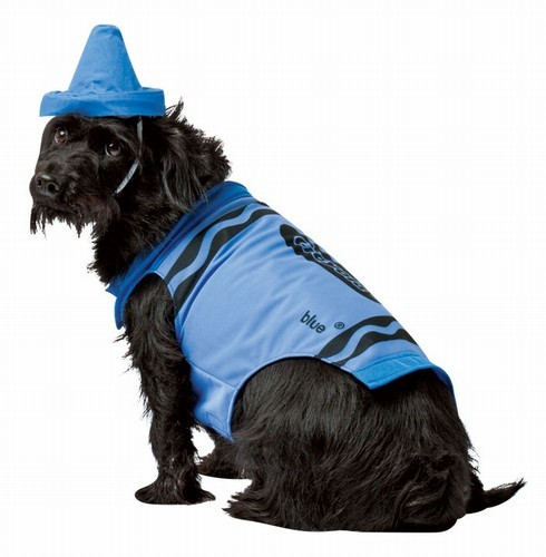 Crayola Crayon Dog Costume - Blue