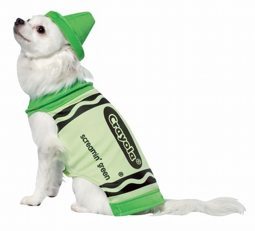 Crayola Crayon Dog Costume - Green