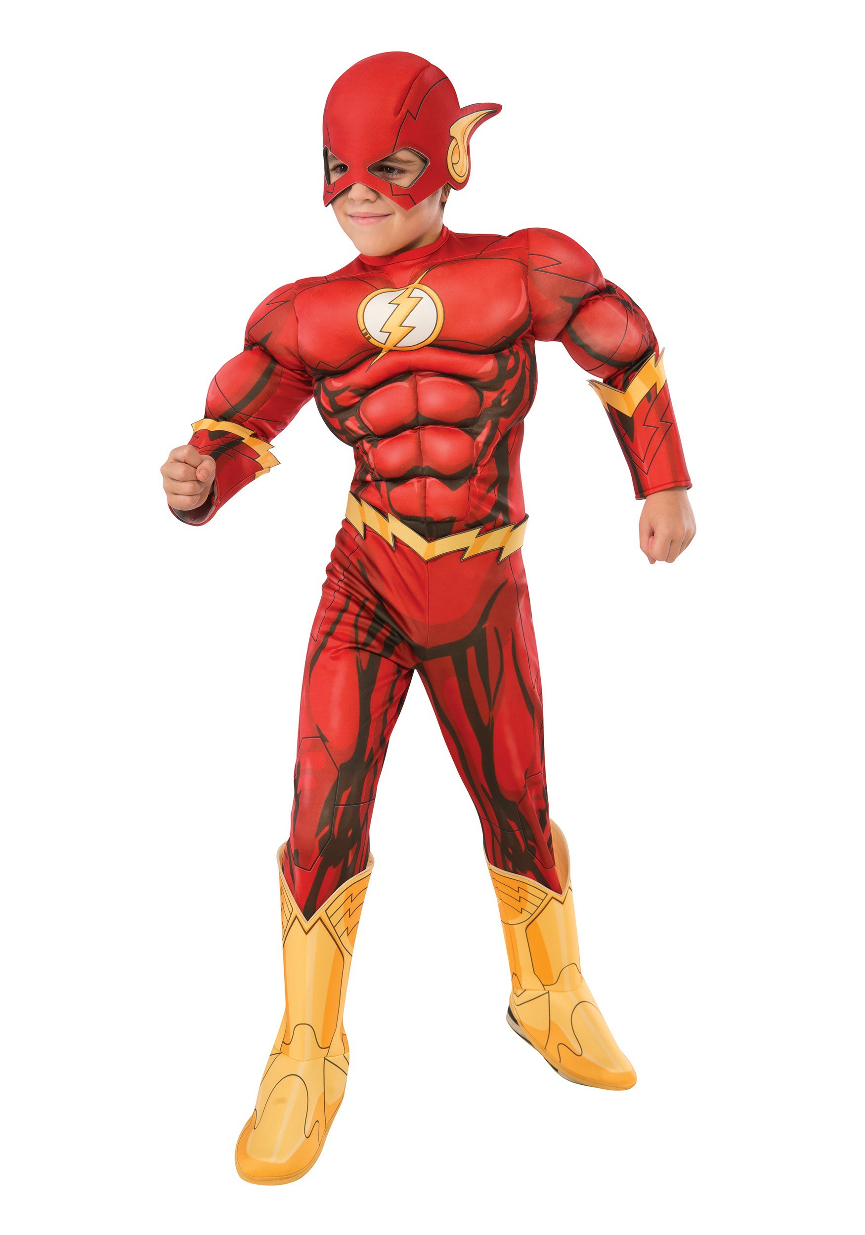 DC Comics Deluxe Child Flash Costume