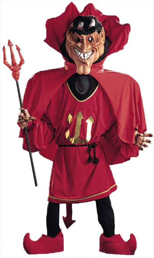 Dare Devil Mascot Costume