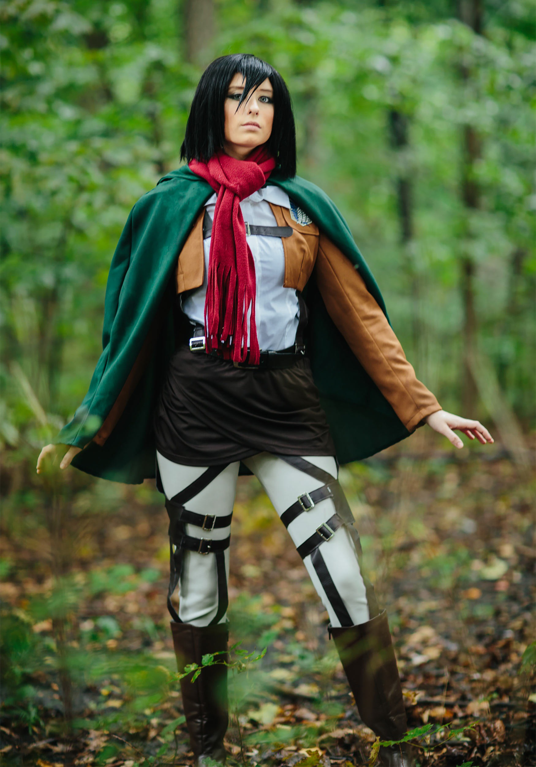 Deluxe Attack on Titan Mikasa Costume