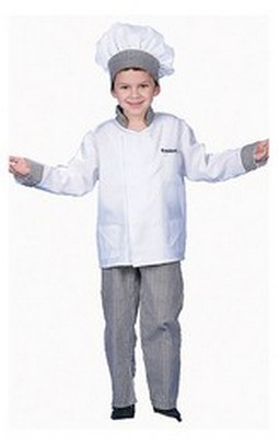 Deluxe Boy Chef Costume - Toddler