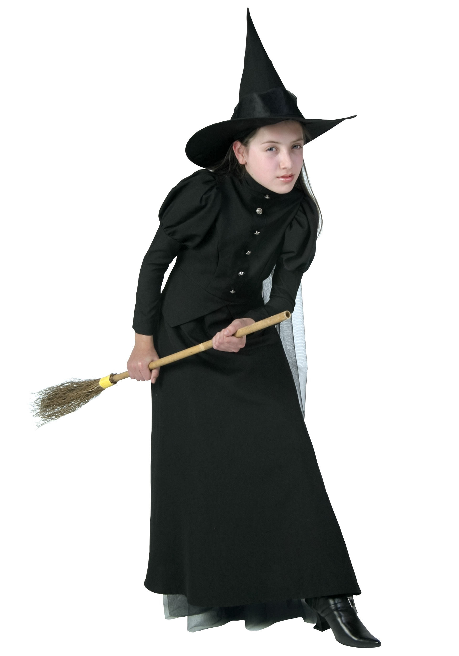 Deluxe Child Witch Costume