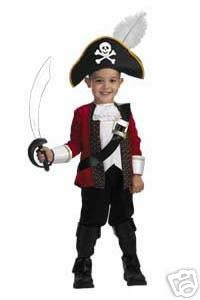 Deluxe El Capitan Child Pirate Costume