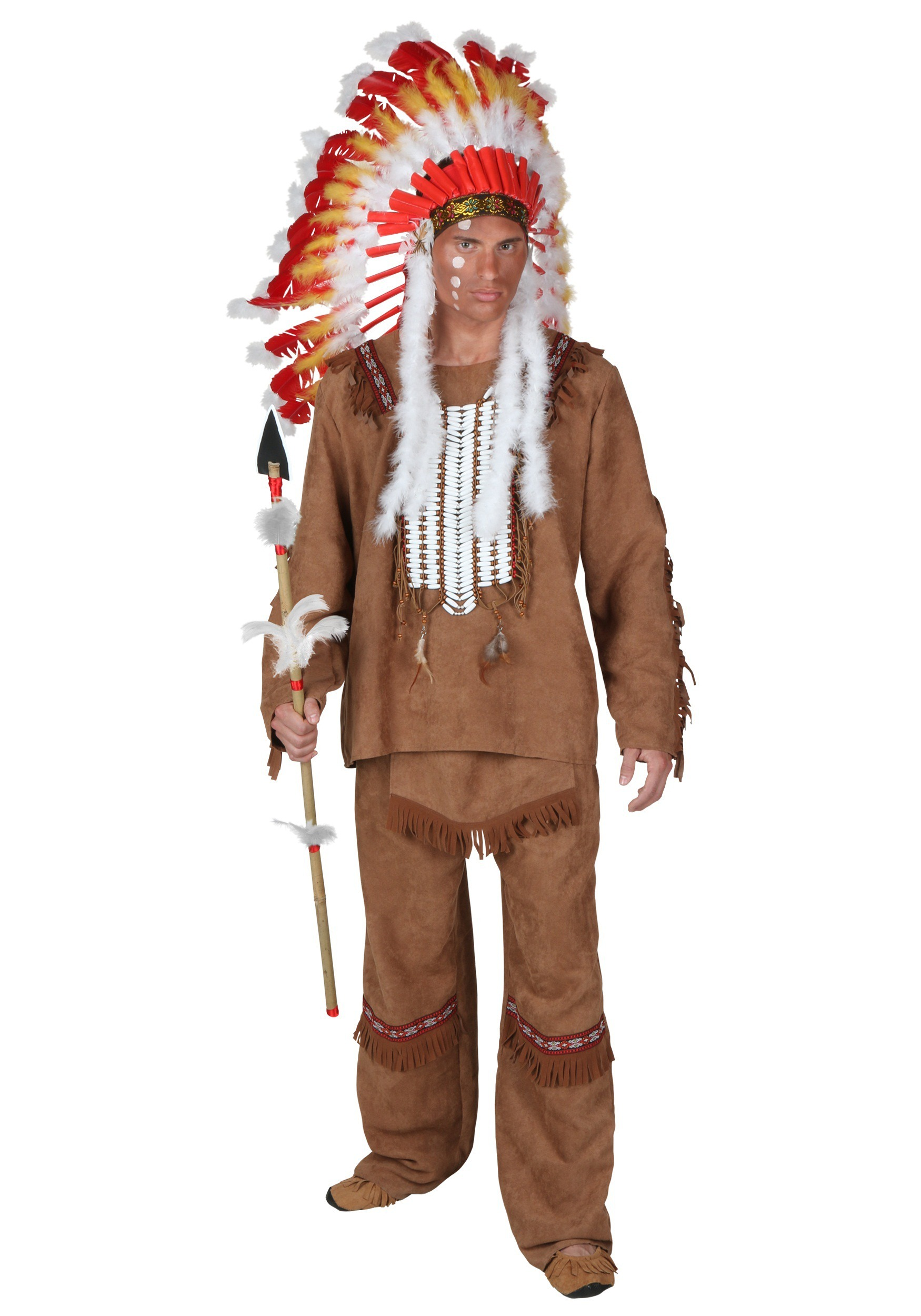 Deluxe Men's Indian Costume