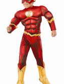 Deluxe Muscle Chest Kids Flash Costume