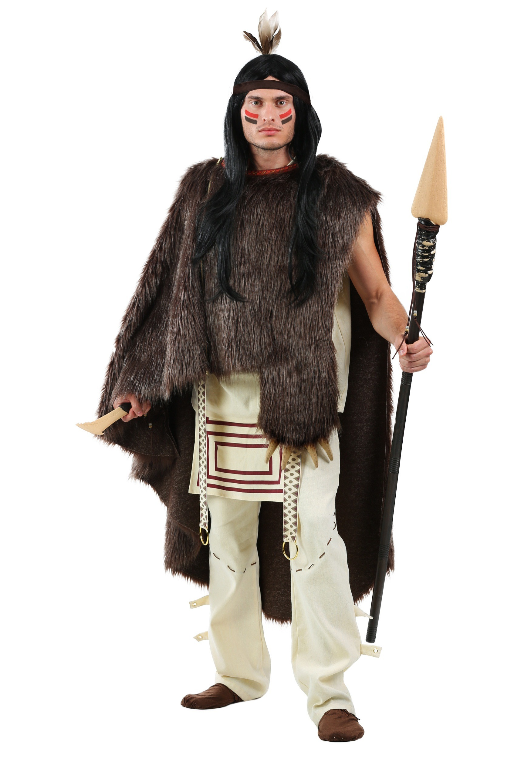 Deluxe Native Chief Mens Costume