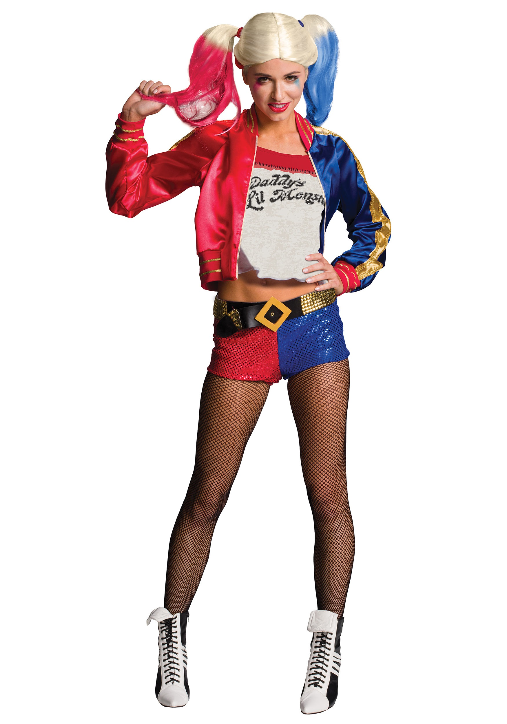 Deluxe Suicide Squad Harley Quinn Costume