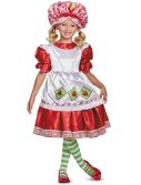 Deluxe Vintage Child Strawberry Shortcake Costume