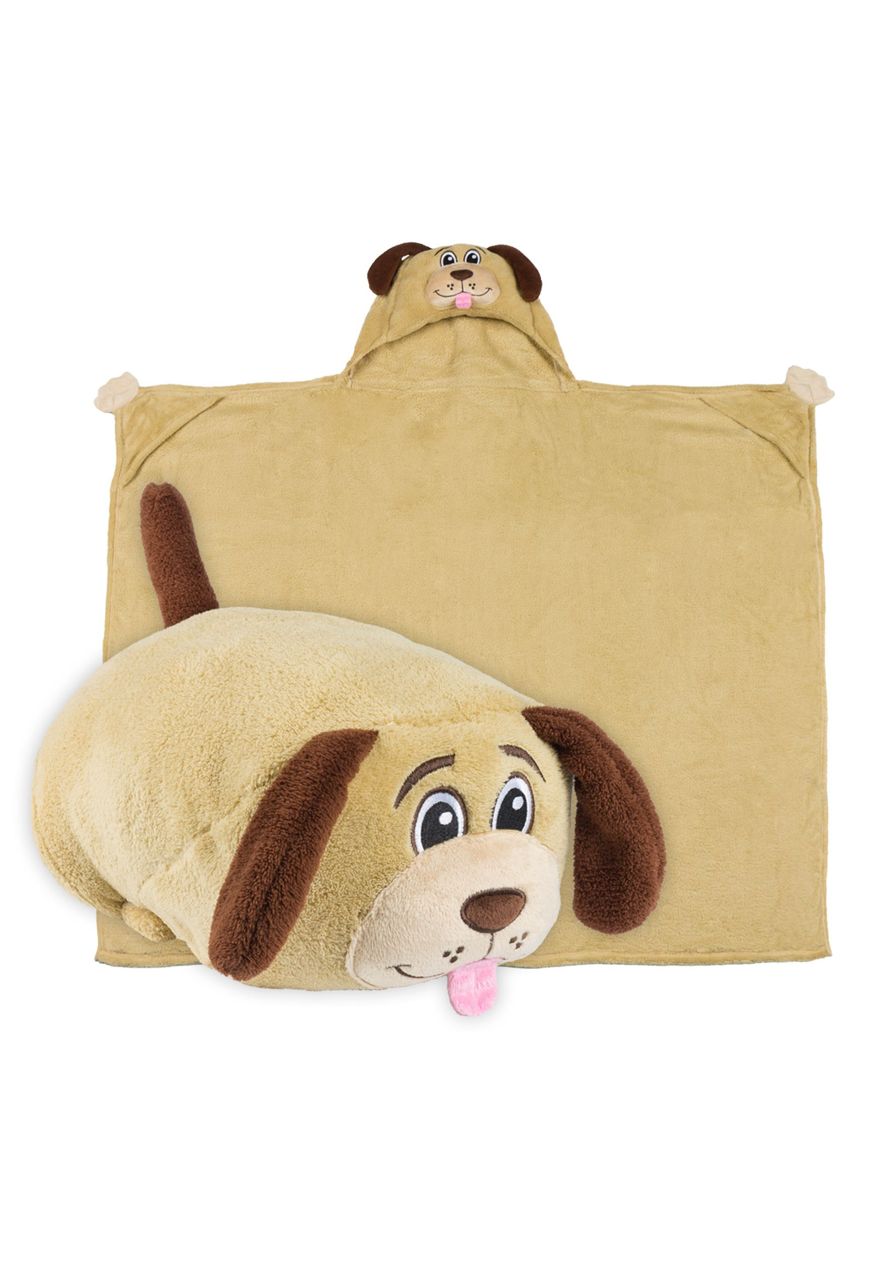 Dexter the Dog Comfy Critter Blanket