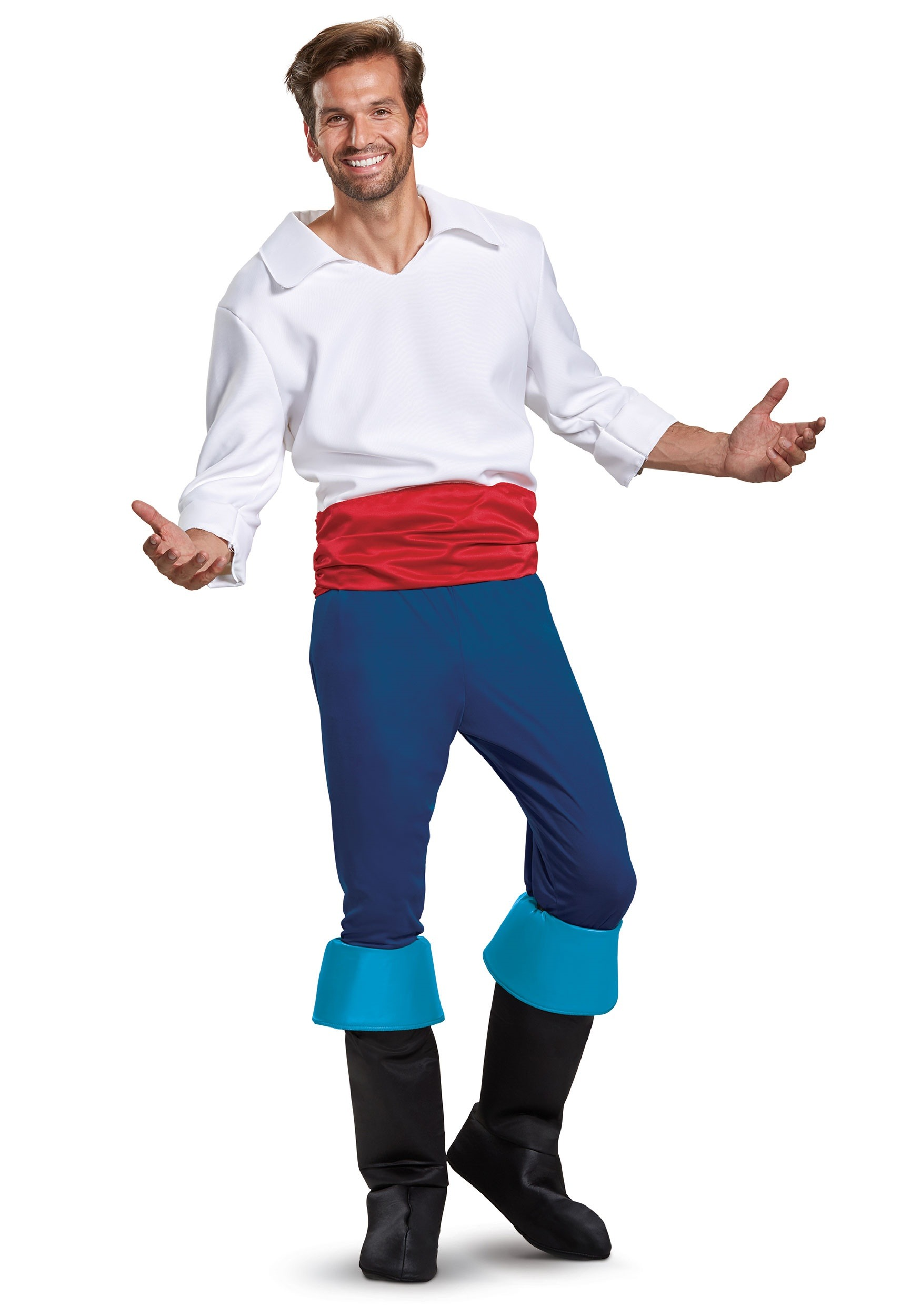 Disney Prince Eric Deluxe Men's Costume