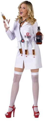 Doctor Shots Female Costume