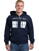 Doctor Who I Am TARDIS Costume Hooded Sweatshirt