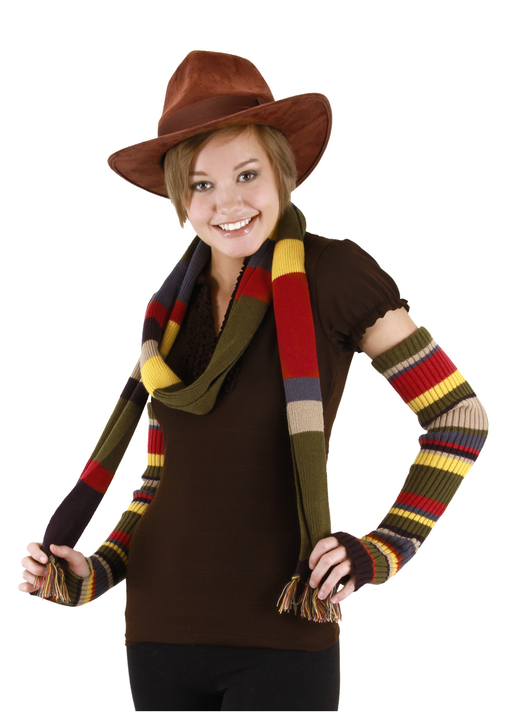 Dr. Who The Fourth Doctor Hat