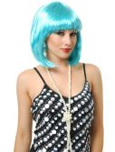 Electric Blue Bob Wig