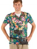 Faux Real Hawaiian Tourist Plus Size Shirt