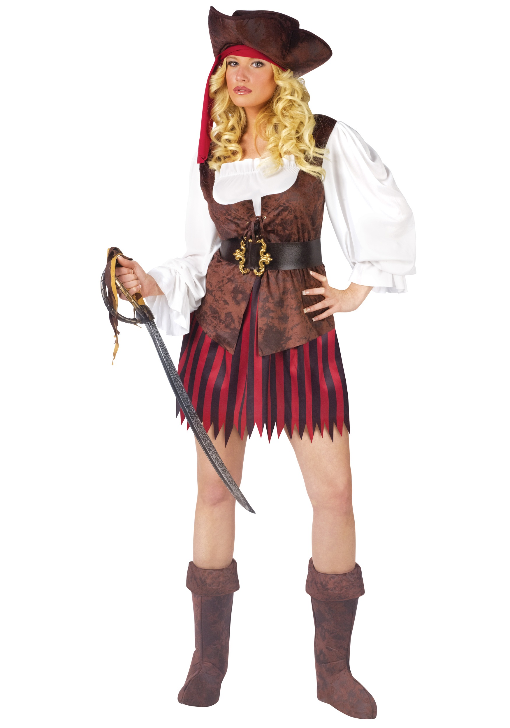 Female Caribbean Pirate Costume