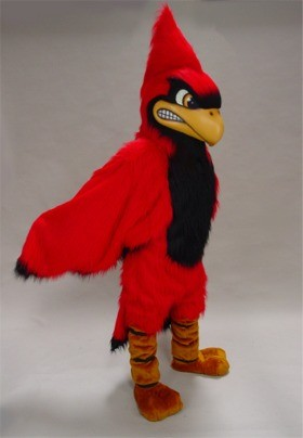 Fierce Cardinal Mascot Costume