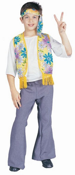 Flower Child Boy Costume