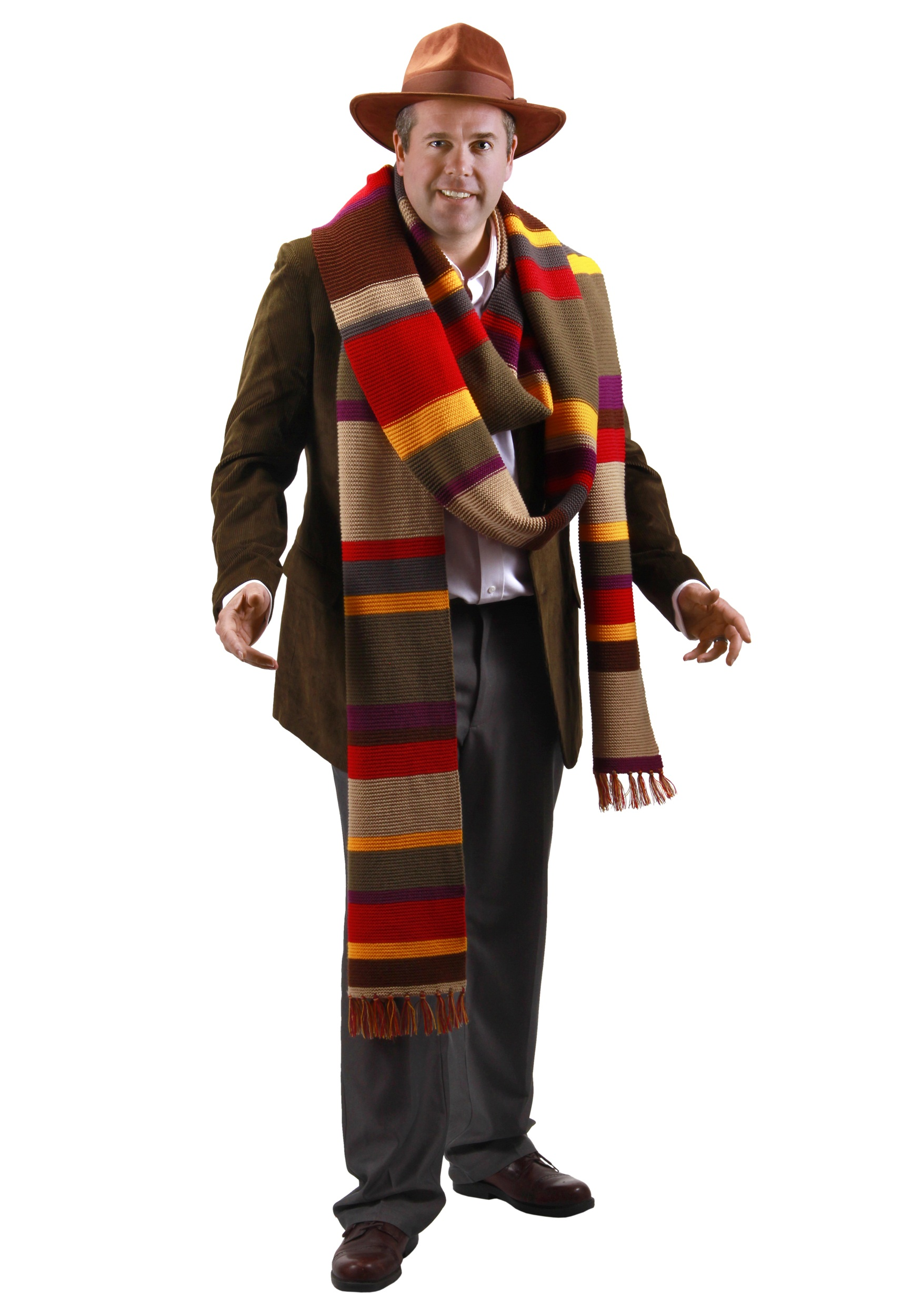 Fourth Doctor Premium Scarf
