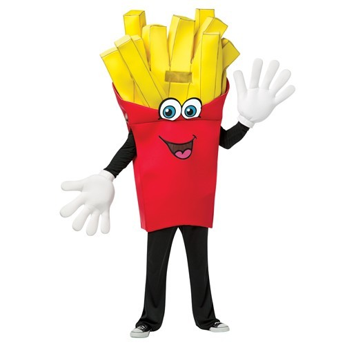 French Fries Mascot