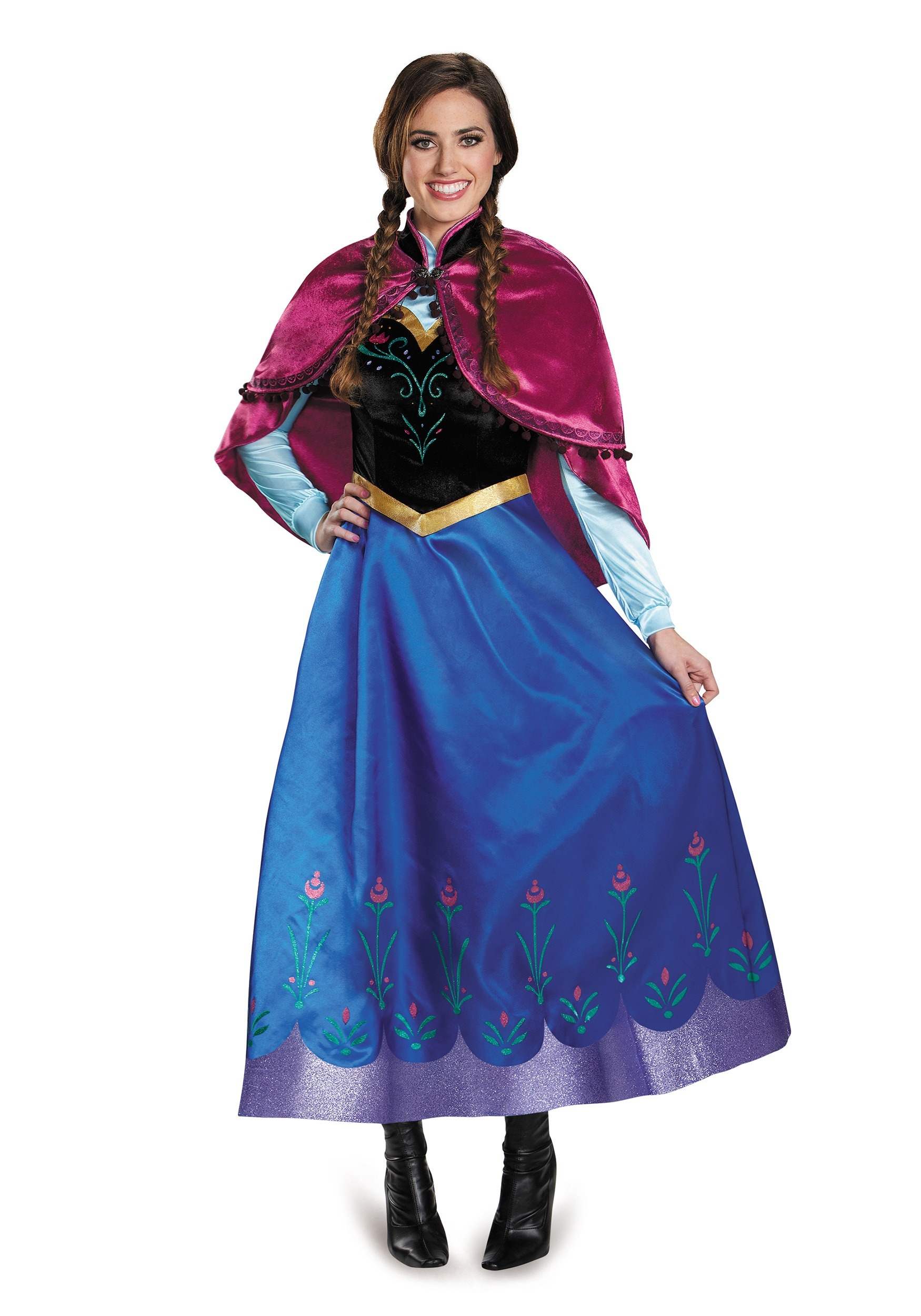 Frozen Traveling Anna Prestige Adult Costume