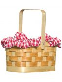 Gingham Basket Handbag