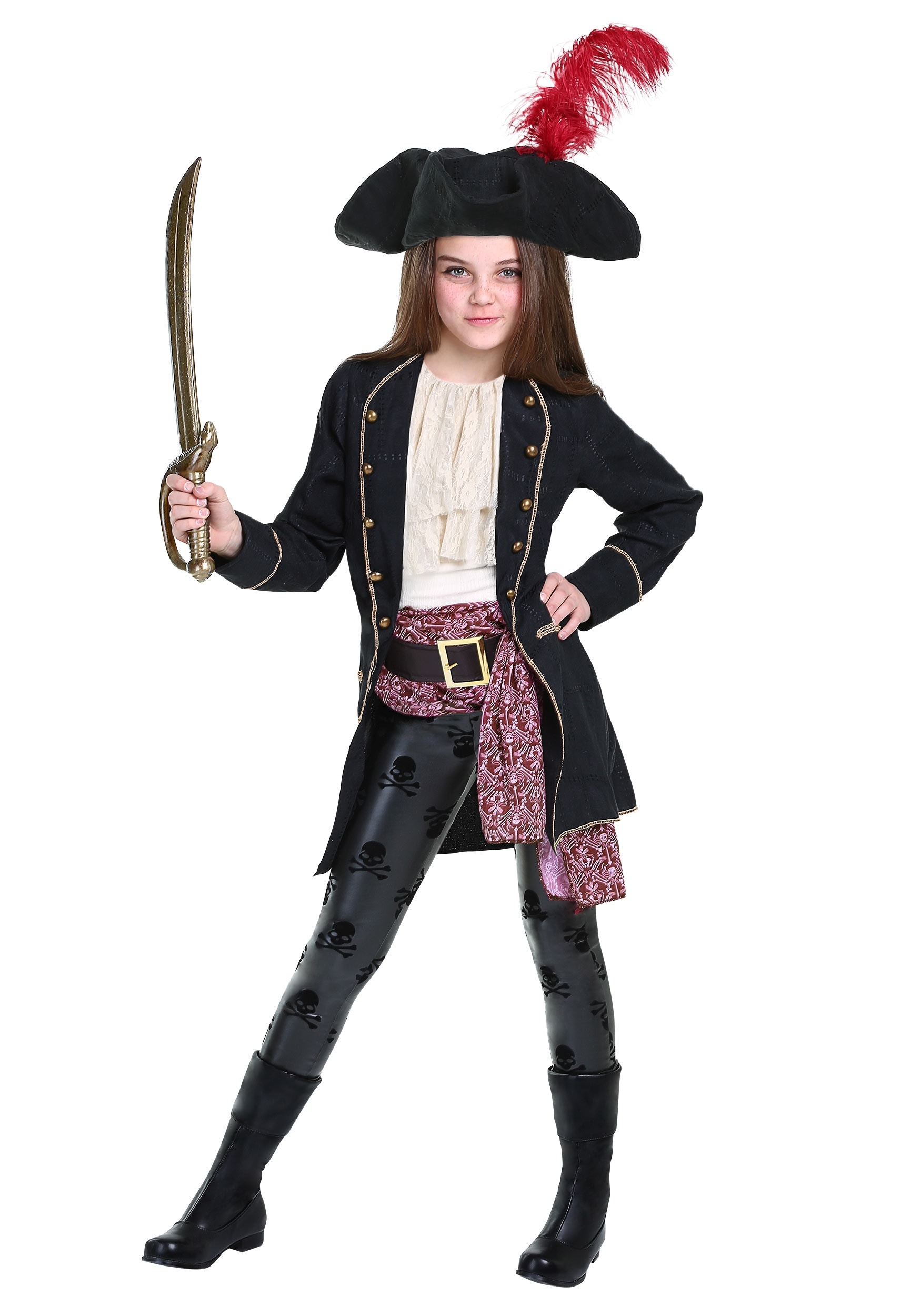 Girls Buccaneer Costume