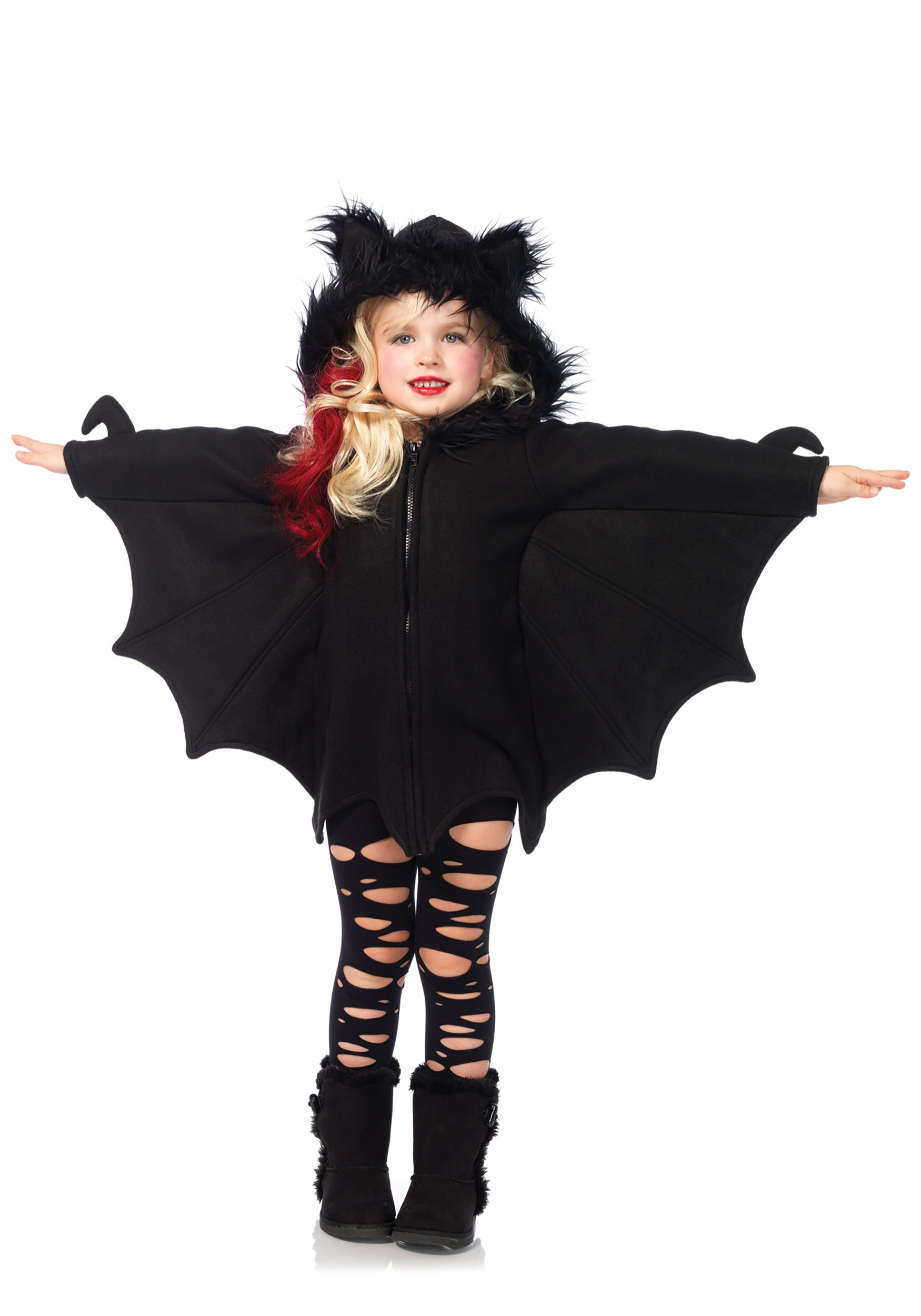 Girls Cozy Bat Costume