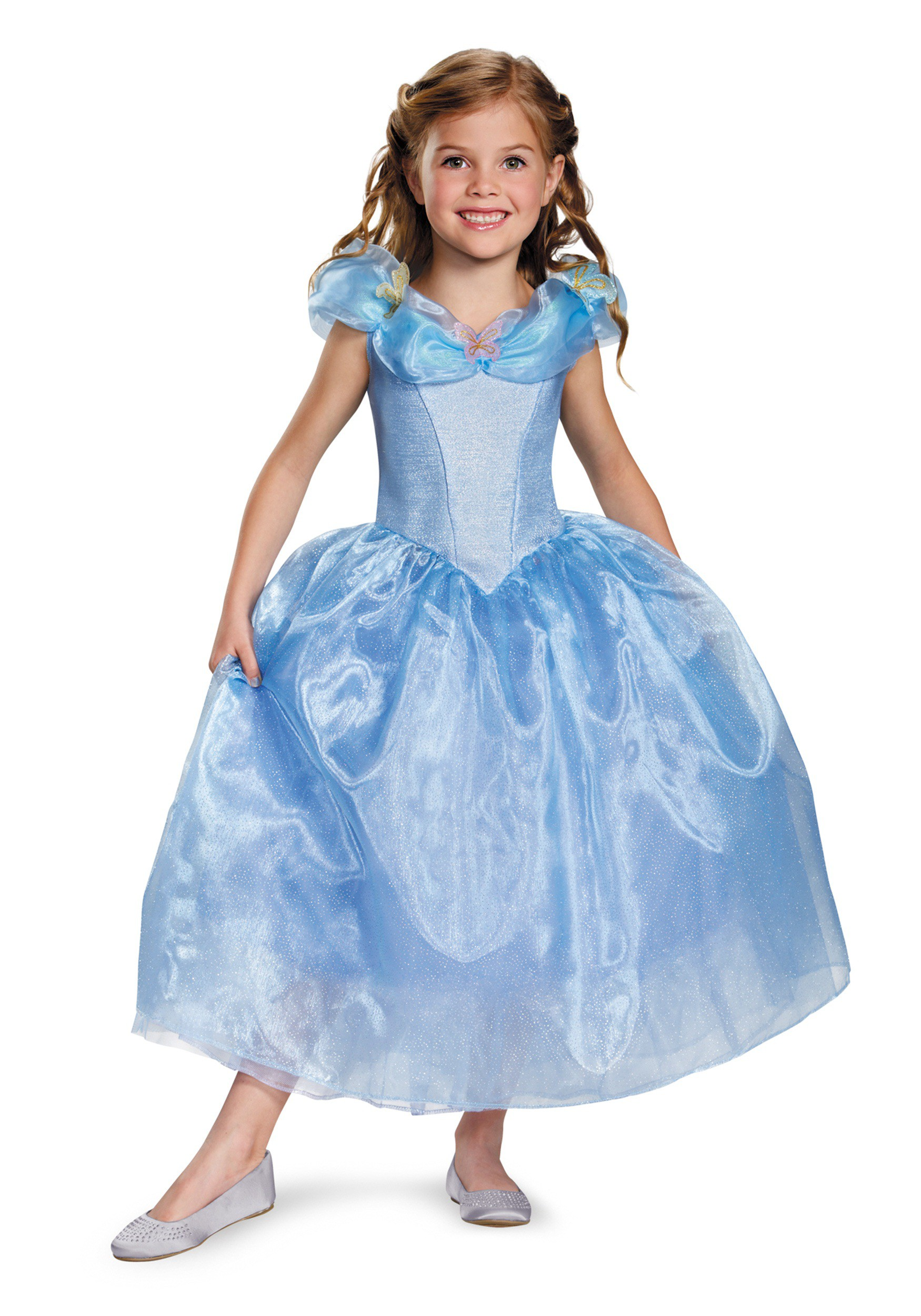Girls Deluxe Cinderella Movie Costume