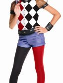 Girls Deluxe Harley Quinn Costume