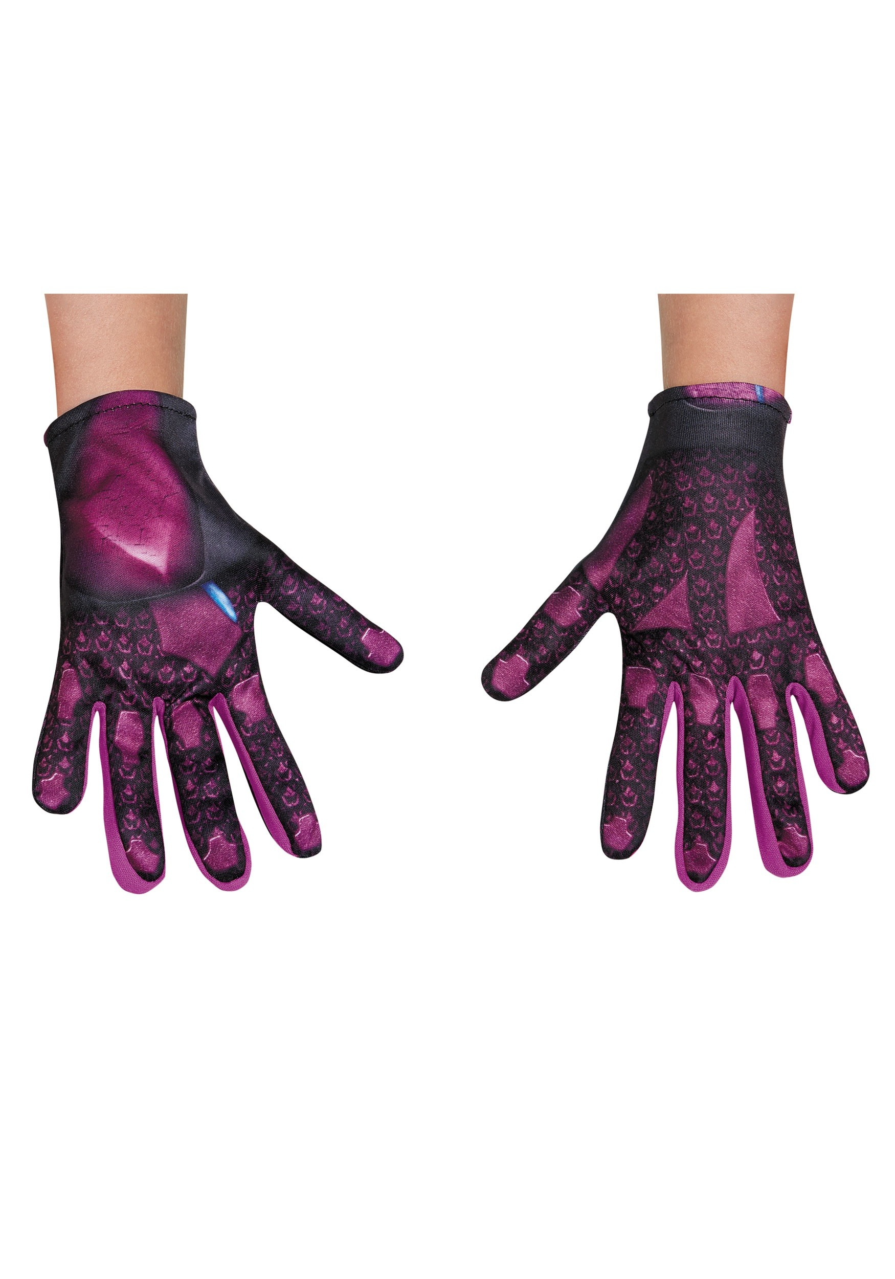 Girls Pink Ranger Movie Gloves