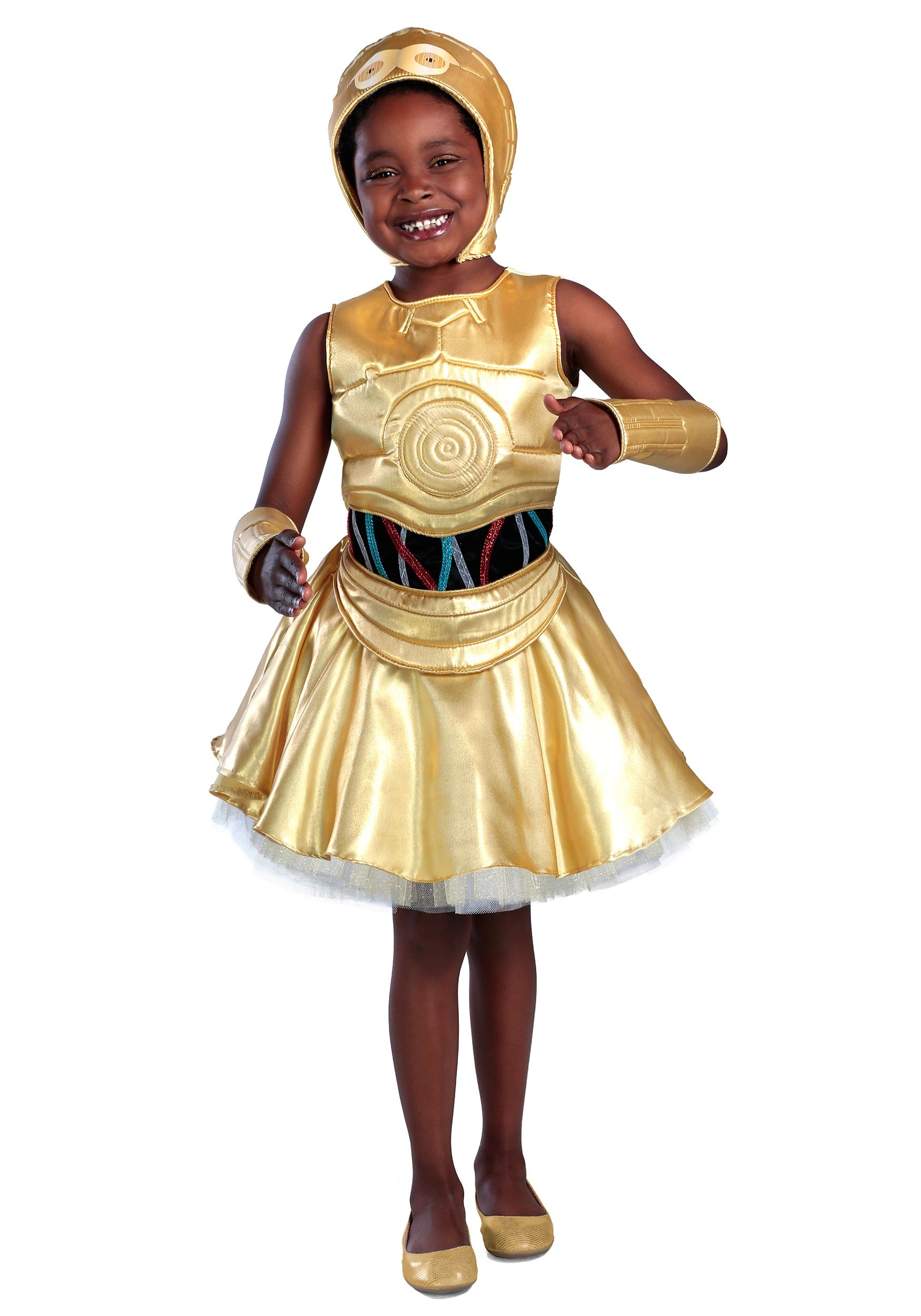 Girls Star Wars C-3PO Dress