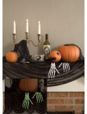 Glow in the Dark Skeleton Hands Mantel Scarf