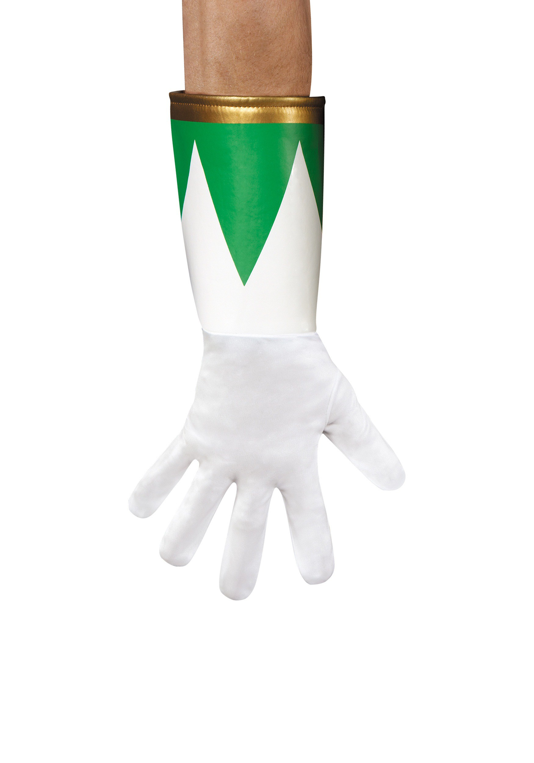 Green Ranger Adult Gloves