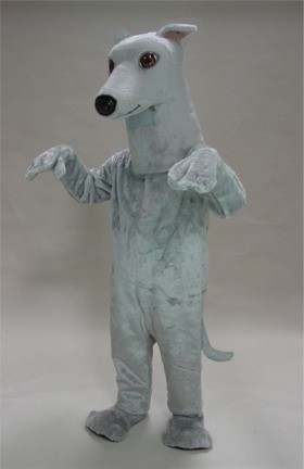Greyhound Mascot Costume