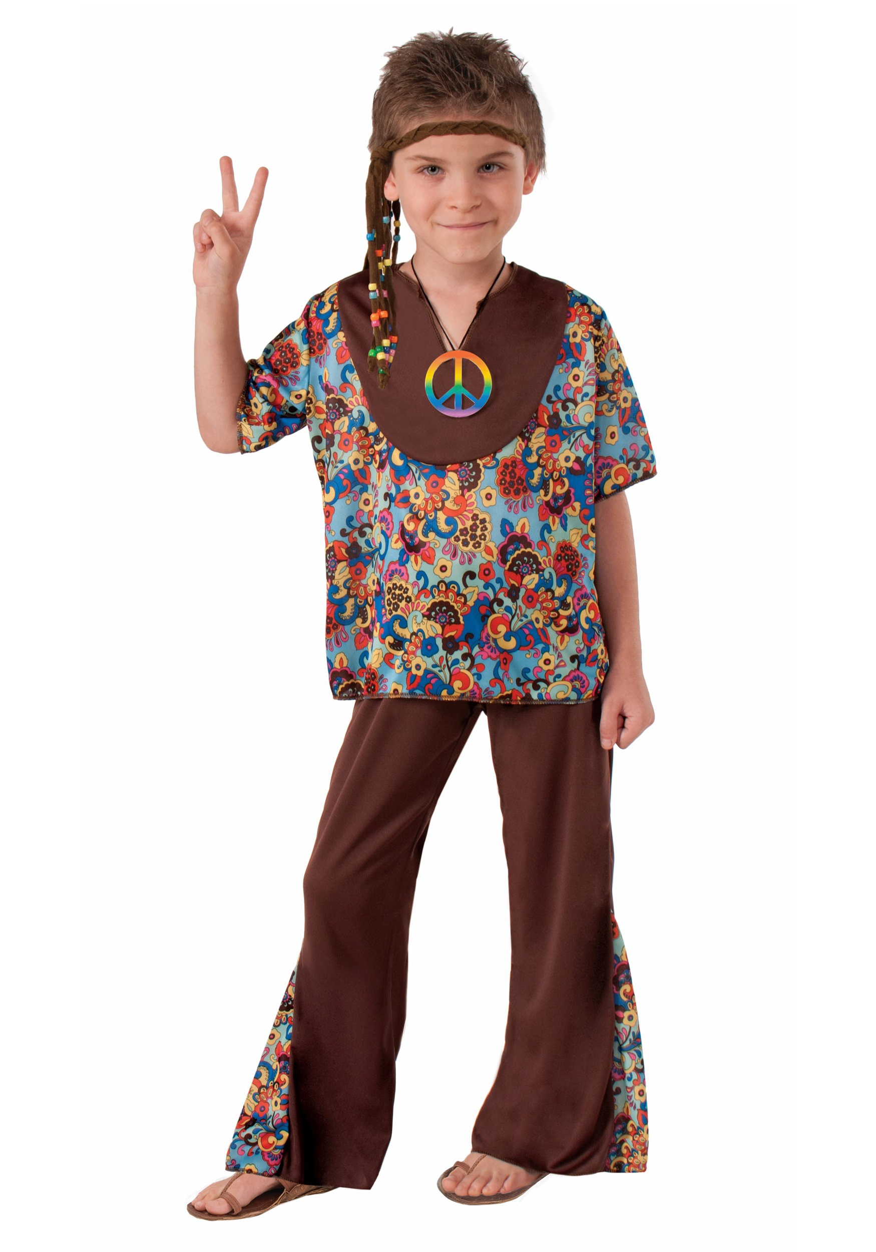 Hippie Boy Costume