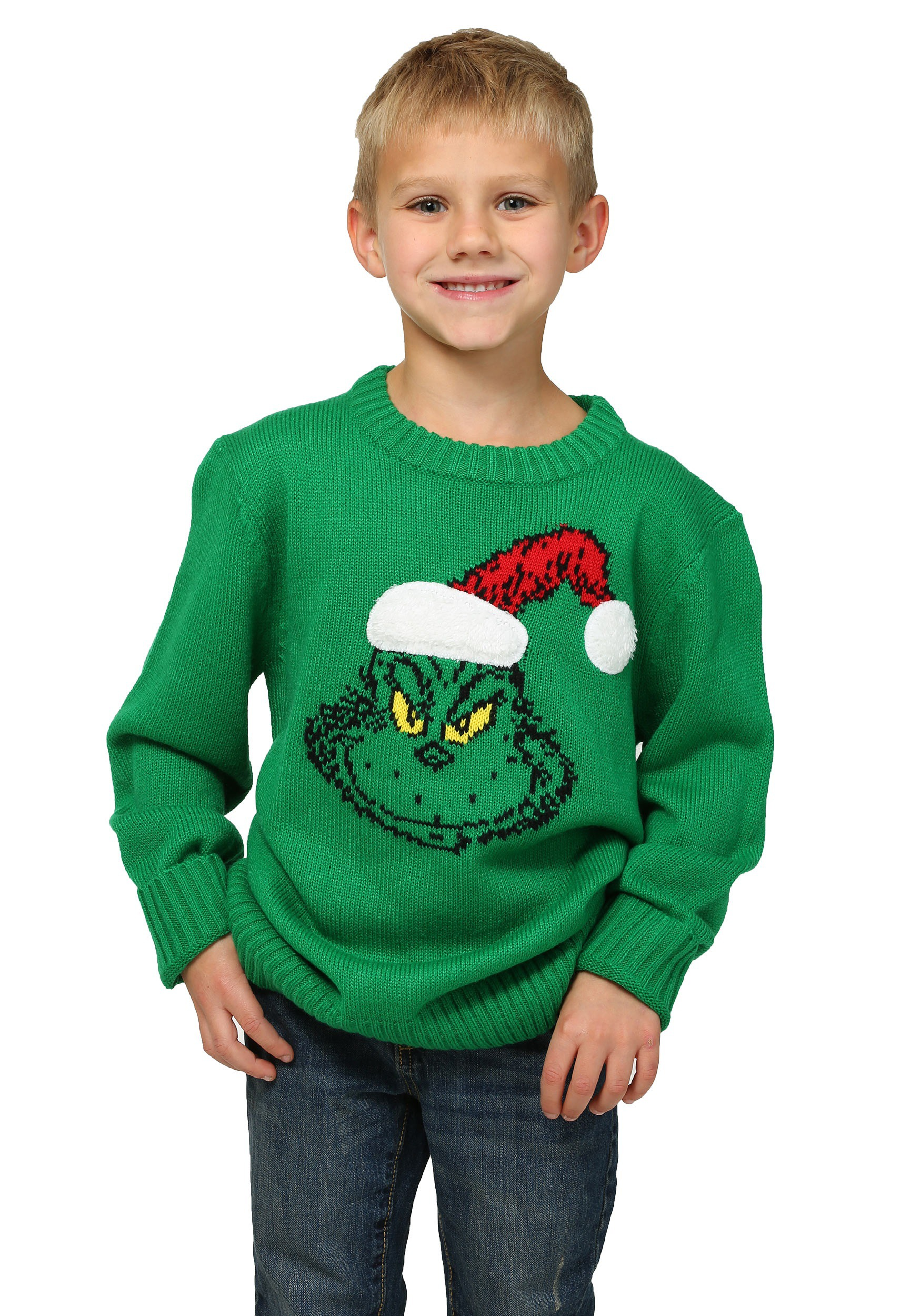How The Grinch Stole Christmas Boys Ugly Sweater
