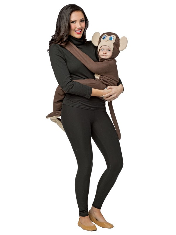 Hugging Baby Monkey Costume