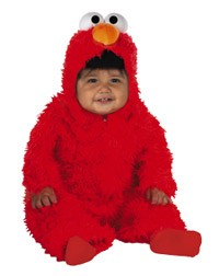 Infant Deluxe Elmo Costume