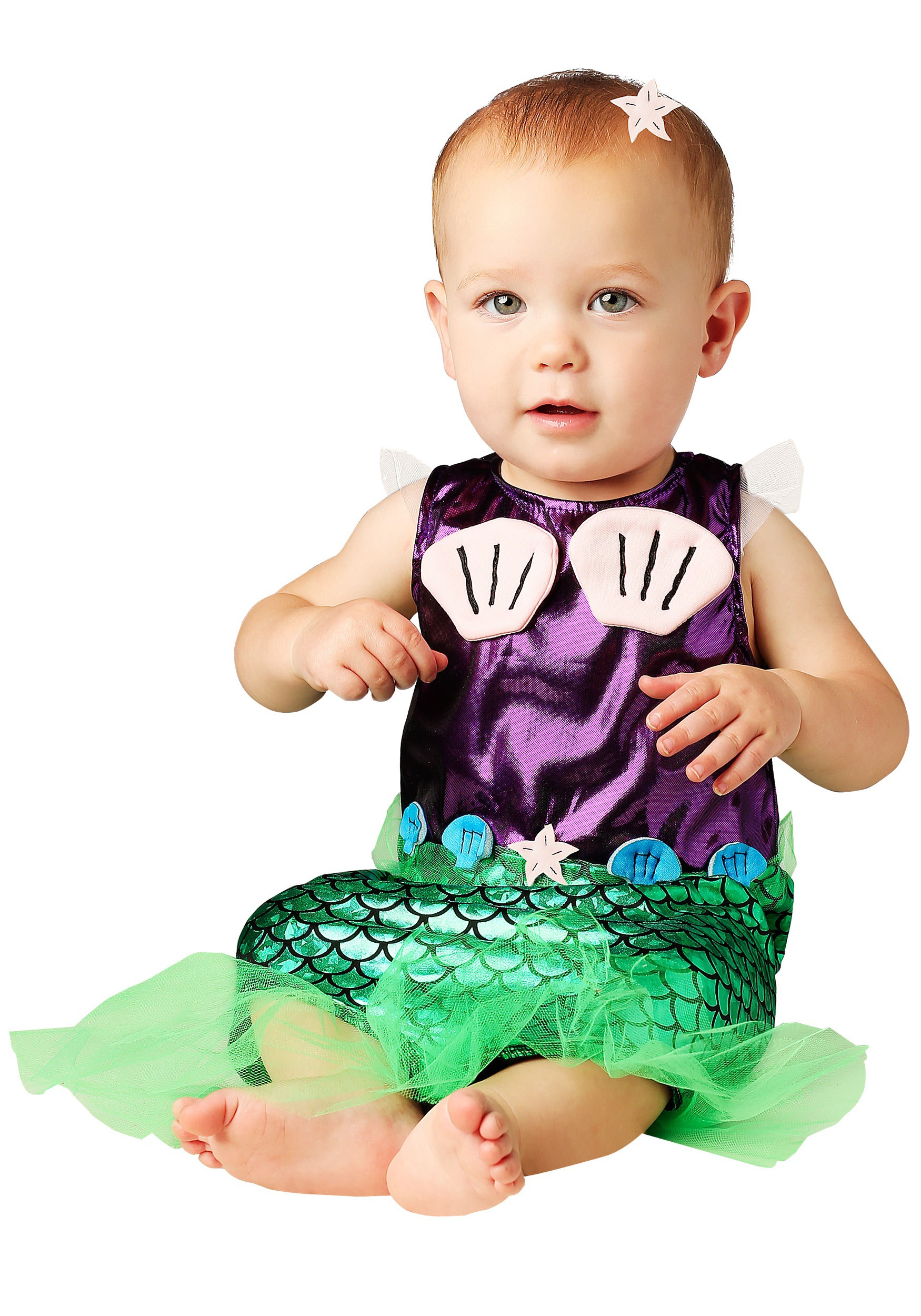 Infant Girls Mermaid Costume