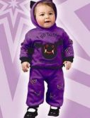 Infant Hooded Bat Costume