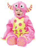 Infant Pink Mini Monster Costume