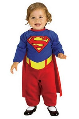 Infant Supergirl Costume