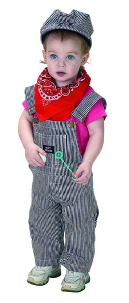 Infant Train Engineer Costume